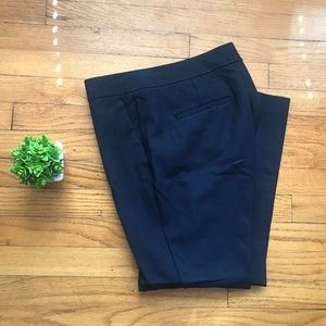 Ann Taylor Navy Blue Devin Fit Dress Pants